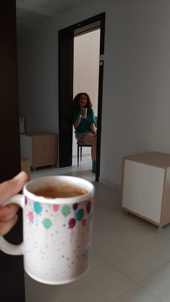coffee time in 14-day quarantine